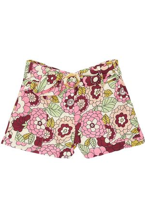 DODO BAR OR Flower Print Viscose Shorts
