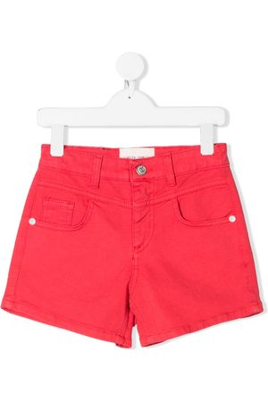 Alberta Ferretti Shorts de mezclilla I Love You