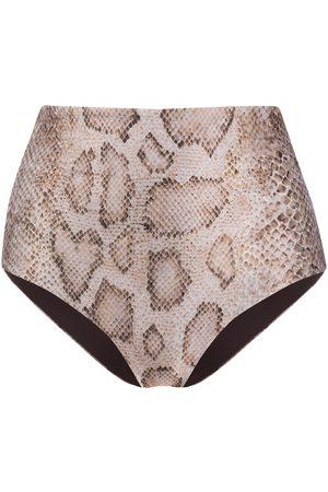 Mara Hoffman High rise bikini bottoms