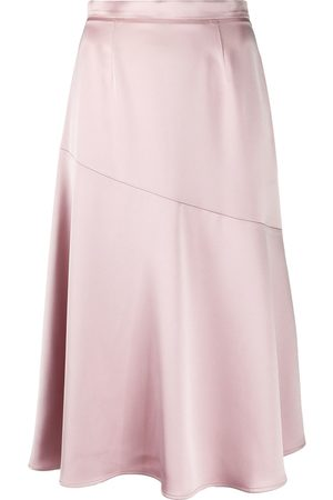 BLANCA Giada satin mini skirt