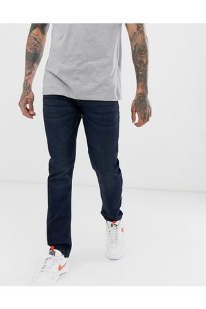 Only & Sons Slim fit super stretch sweat jeans in dark wash