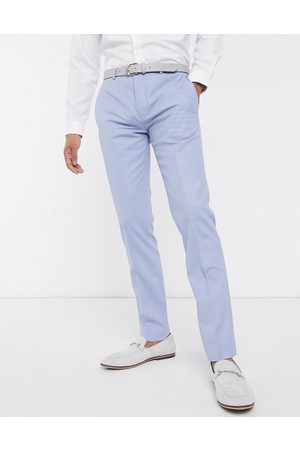 Twisted Tailor Suit trousers in pastel blue