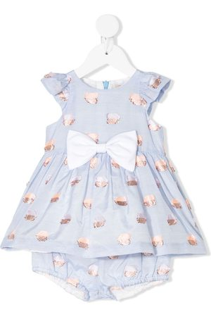 HUCKLEBONES LONDON Flutter bodice dress & bloomers