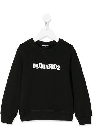 Dsquared2 Kids Stamped logo print sweatshirt