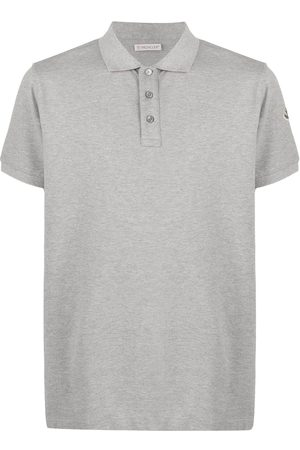 Moncler Embroidered logo short-sleeved polo shirt