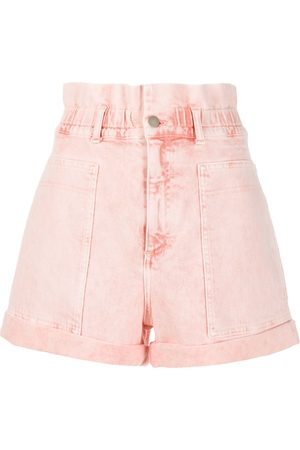 Stella McCartney Shorts de mezclilla de tiro alto