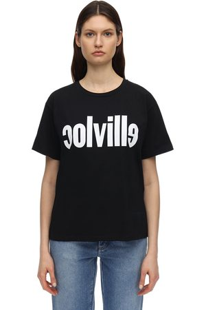 Colville Camiseta De Jersey De Algodón Estampada