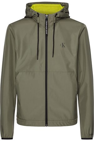 Calvin Klein Jersey Lined Hooded