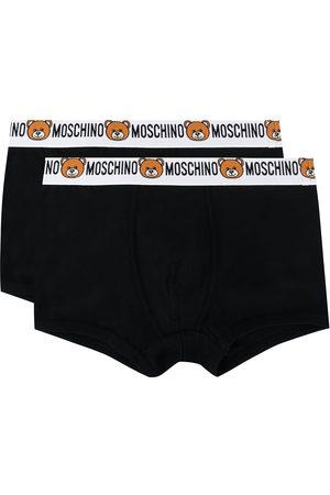 Moschino Hombre Boxers y trusas - Pack de dos bóxers con logo