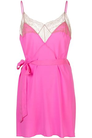 Kiki de Montparnasse Le Shock lace-trimmed cami dress