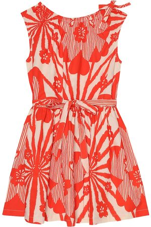 Caramel Notting Hill printed cotton dress