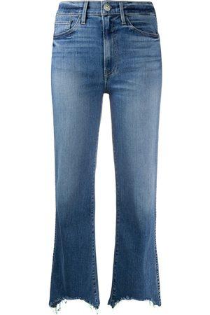 3x1 Mujer Jeans - Jeans con dobladillo sin rematar