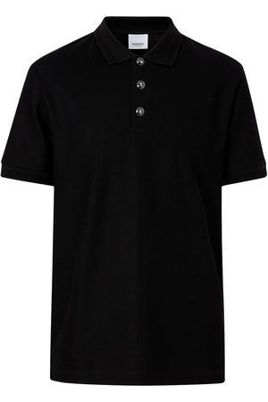 Burberry Embossed buttons polo shirt