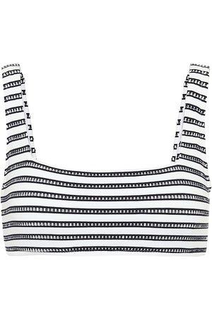 Heidi Klein Mujer Bikinis - Corsica striped bikini top
