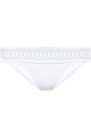 Heidi Klein Antilles smocked bikini bottoms