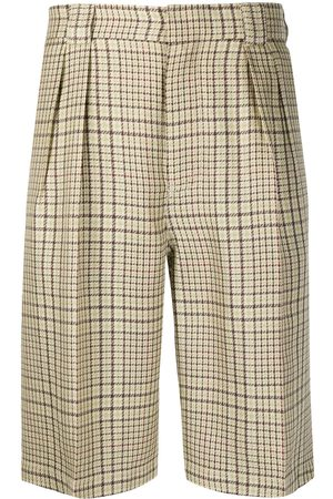Jacquemus Checked tailored shorts