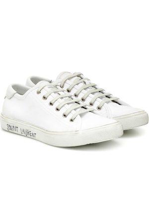 Saint Laurent Malibu leather sneakers