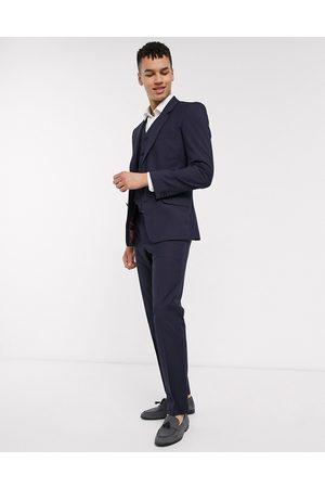 ASOS Slim suit trousers in navy
