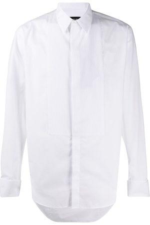 Armani Hombre Formales - Camisa con pechera plisada formal