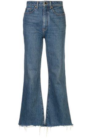 Khaite Mujer Jeans - Jeans capri Gabbie