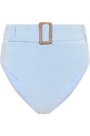 ALEXANDRA MIRO Belted bikini bottoms