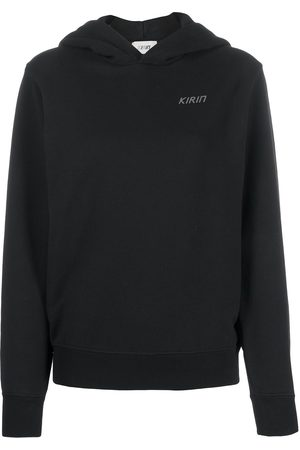 Kirin OPEN BACK HOODIE SWEAT BLACK SILVE