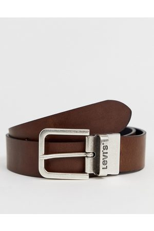 Levi's Reversible core leather belt in black/brown