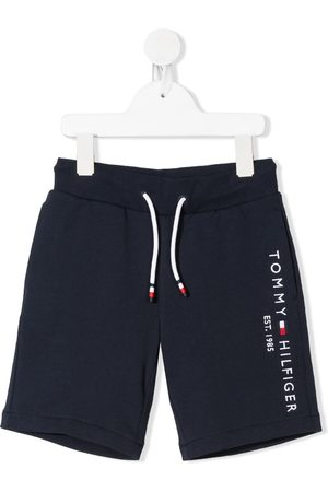Tommy Hilfiger Embroidered logo cotton shorts