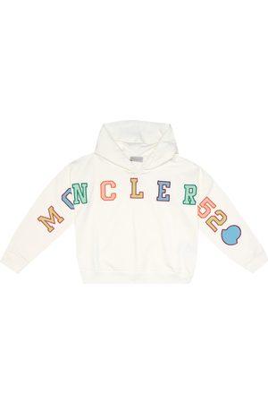 Moncler Printed cotton hoodie