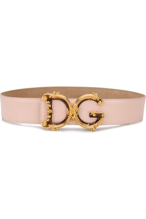 Dolce & Gabbana Baroque DG buckle belt