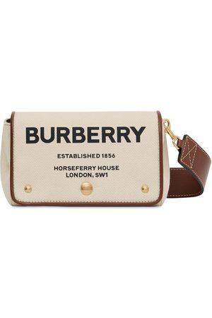"""Burberry Bolso """"hackberry"""" De Lona Con Logo Estampado"""