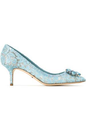 Dolce & Gabbana Zapatillas Taormina con encaje y cristal
