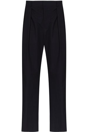 VALENTINO Pantalones de vestir con raya en contraste