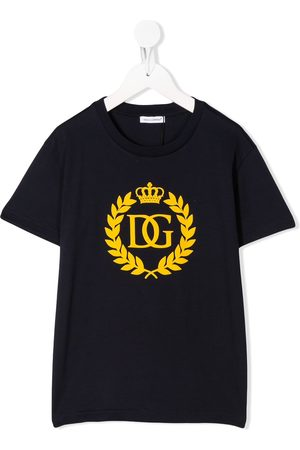 Dolce & Gabbana DG crown logo t-shirt