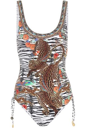 Camilla Animal-print swimsuit