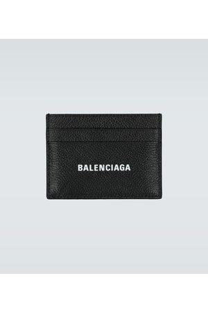 Balenciaga Cash leather card holder