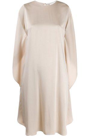 Stella McCartney Vestido sin mangas con espalda drapeada