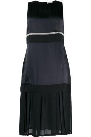 3.1 Phillip Lim Mujer Cóctel - Vestido por la rodilla con panel translúcido
