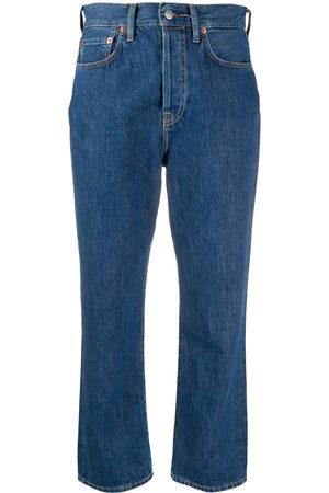 Acne Studios Mujer Jeans - Jeans Mece Dark Blue Trash