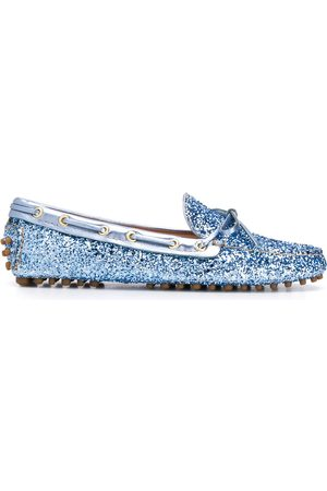 CAR SHOE Gliter detail loafers