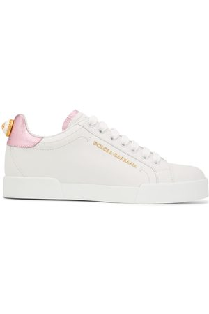 Dolce & Gabbana Portofino faux-pearl sneakers
