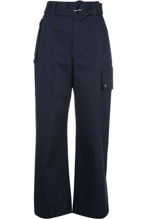 PROENZA SCHOULER WHITE LABEL Mujer Cargo - Pantalones tipo cargo con cinturón