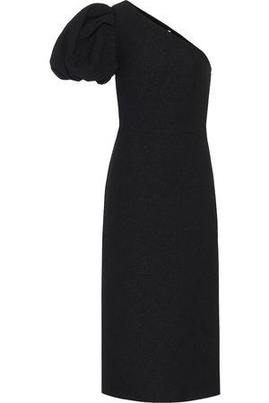 Rebecca Vallance Natalia jacquard midi dress