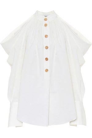 MONSE Cotton and linen shirt