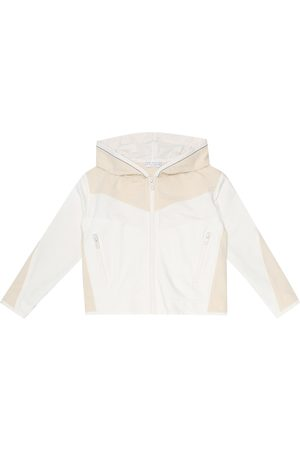 Brunello Cucinelli Embellished stretch-cotton hoodie