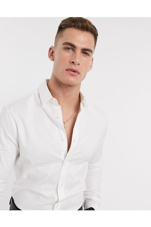 ASOS Formal skinny fit oxford shirt in white