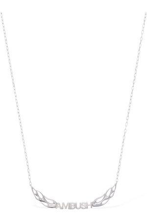 AMBUSH Collar De Cadena Con Logo