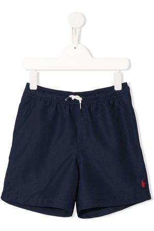 Ralph Lauren Niño Trajes de baño - Shorts de playa con logo