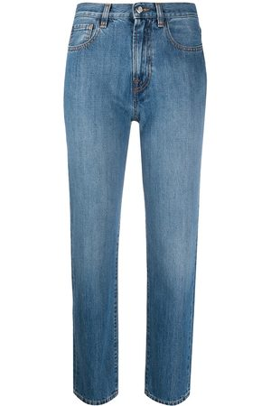 Moncler Straight-leg cropped jeans