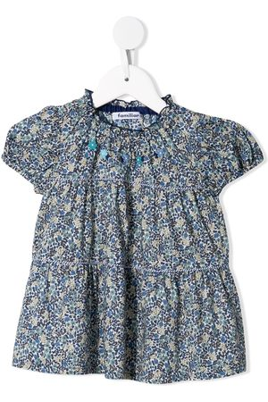 Familiar Blusa con estampado floral